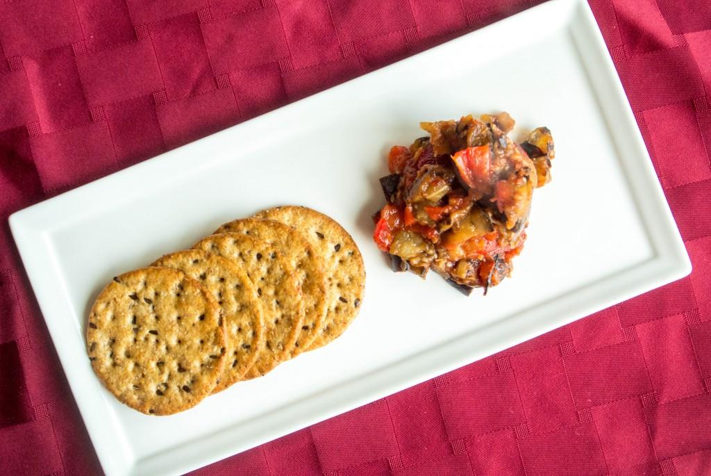Red Pepper-Eggplant Dip by My Utensil Crock-2