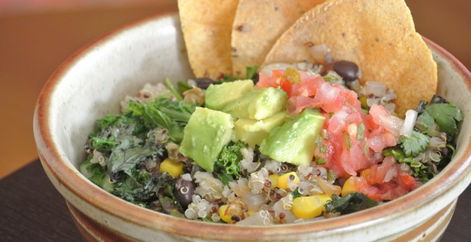 Southwest Quinoa Bowl