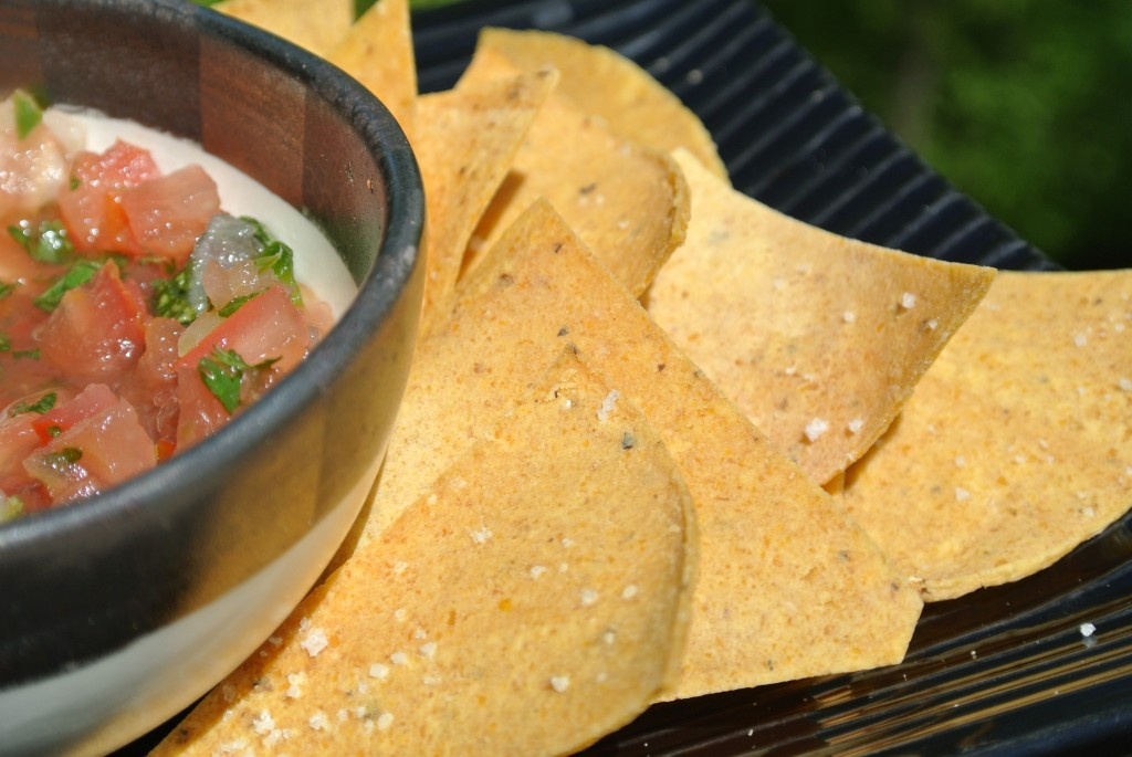Make Your Own Tortilla Chips ~ My Utensil Crock