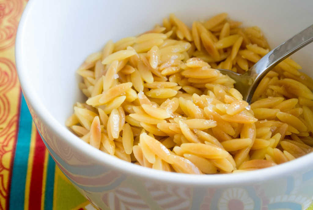 Saffron Orzo by My Utensil Crock