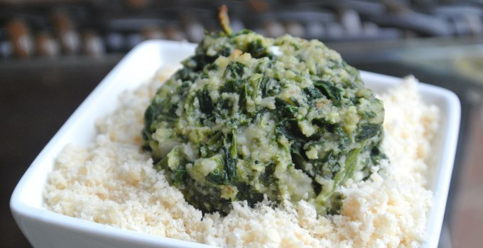 Spinach Parmesan Cakes
