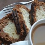 Mocha Marble Loaf Cake with Espresso Glaze ~ by My Utensil Crock