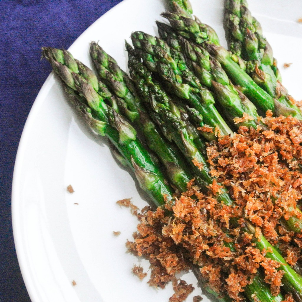 Asparagus with Panko Crumb Topping-3