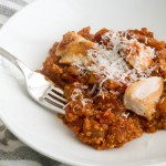Marinara Quinoa with Chicken