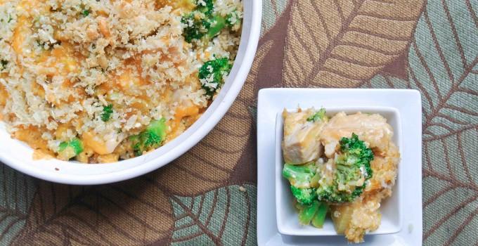 Broccoli Chicken Quinoa Casserole
