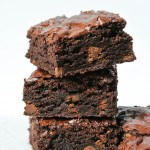 Perfect Fudge Brownies {King Arthur Flour Recipe}
