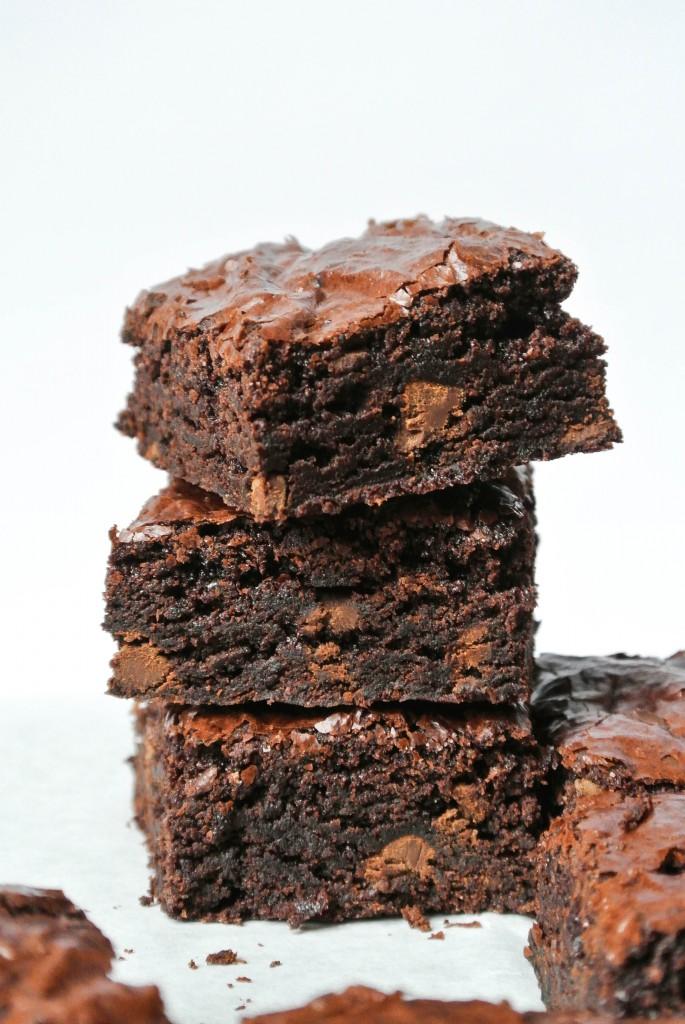 Perfect Fudge Brownies ~ by My Utensil Crock