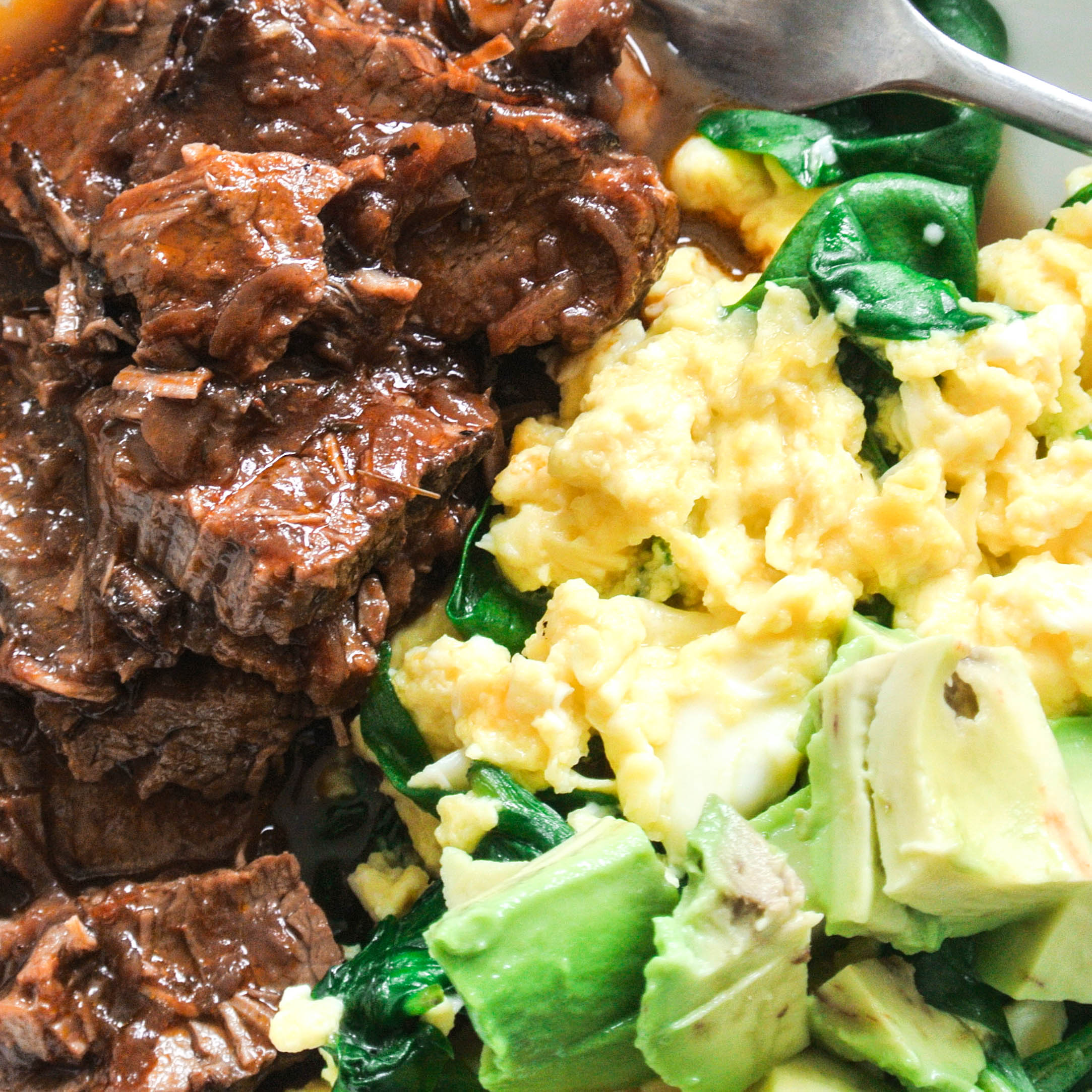 cabernet braised brisket with garlic print this brisket is cooked in ...