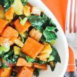Sweet Potato, Kale, and Apple Hash