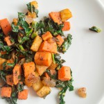 Sweet Potato, Kale, and Apple Hash