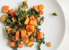 Sweet Potato, Kale, and Apple Hash by My Utensil Crock