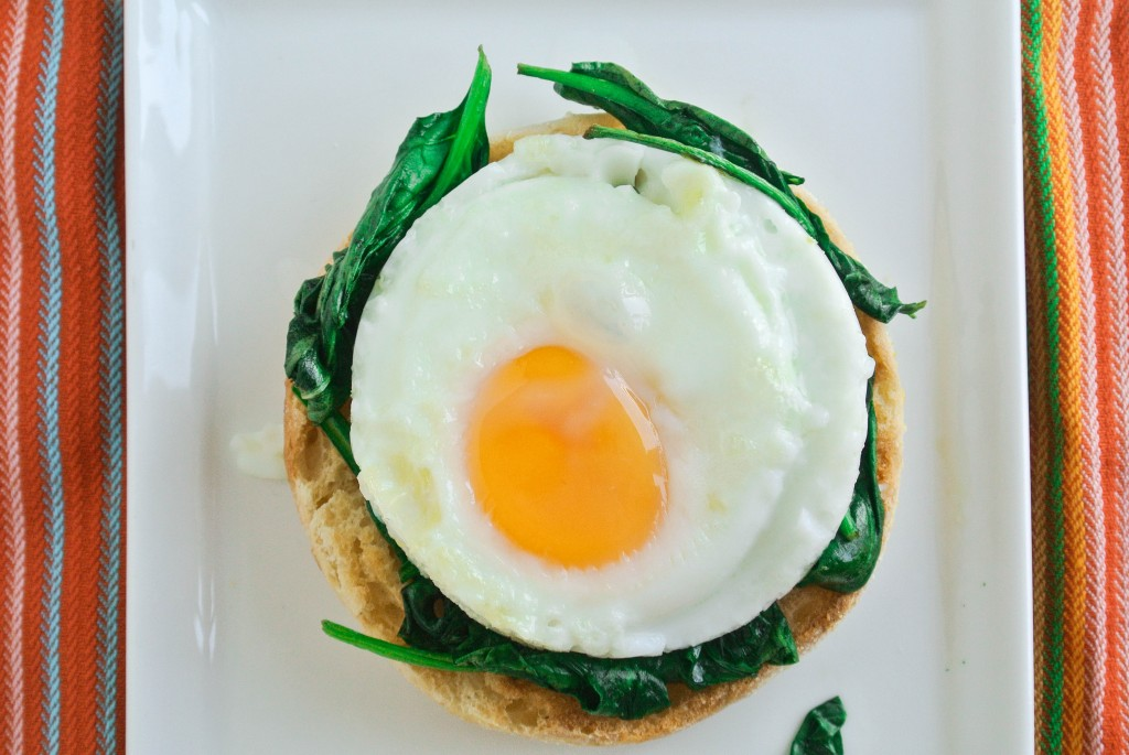 Eggs Florentine Spinach