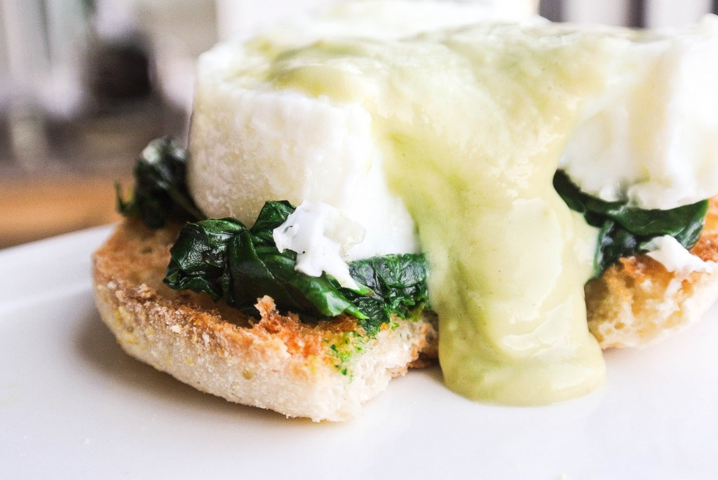 Eggs Florentine Spinach-7