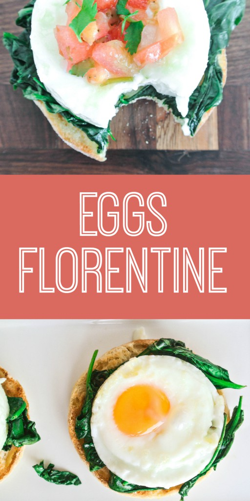 Eggs Florentine by My Utensil Crock - easy and healthy