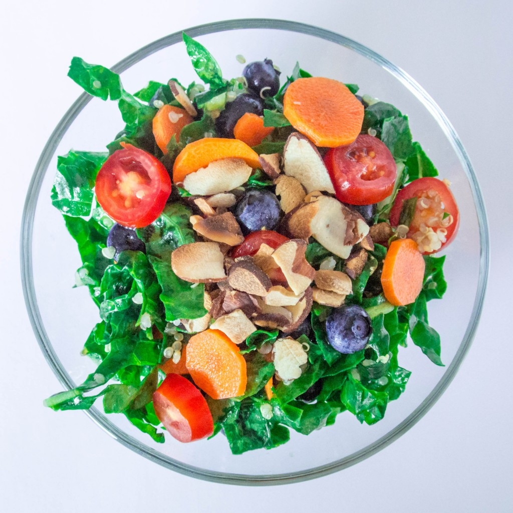 Ginger Kale Salad-10