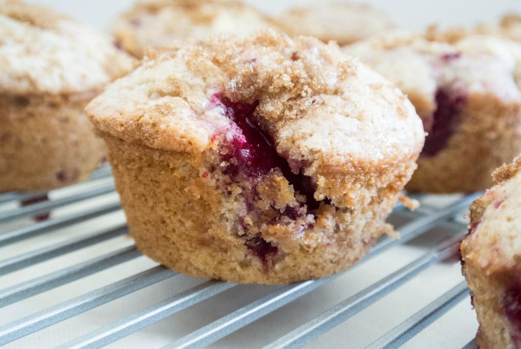 Stone Fruit Muffins-3