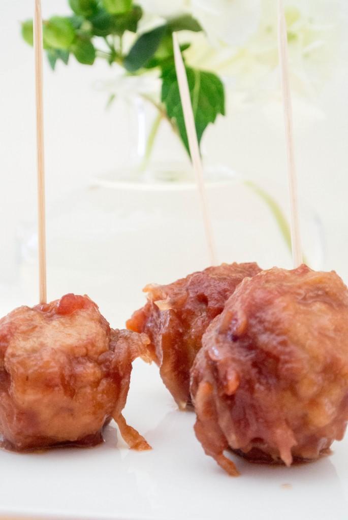 Damn Meatballs {Sweet + Sour}-4