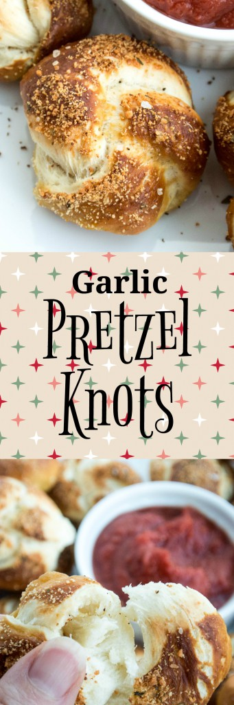 Garlic Pretzel Knots by My Utensil Crock