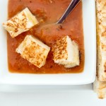 Roasted Tomato Soup {Easy}