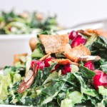 Middle-Eastern Kale & Brussels Sprout Salad