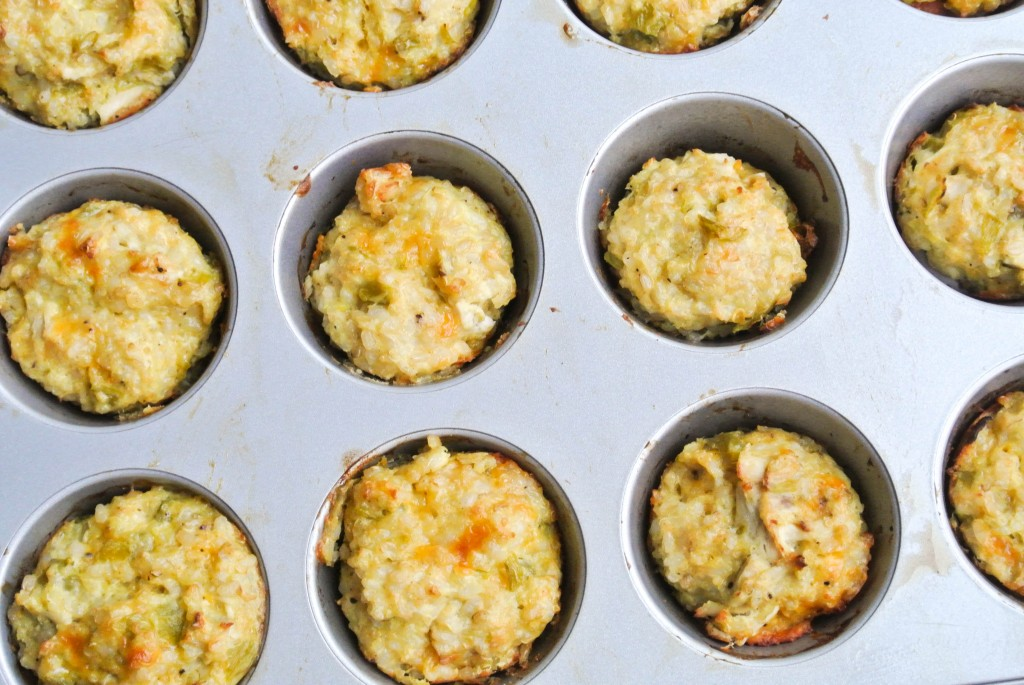 Fiesta Muffins - Eggs, Cheese, Whole Grains