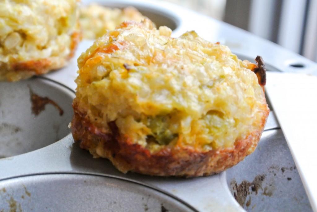 Fiesta Muffins - Eggs, Cheese, Whole Grains-3