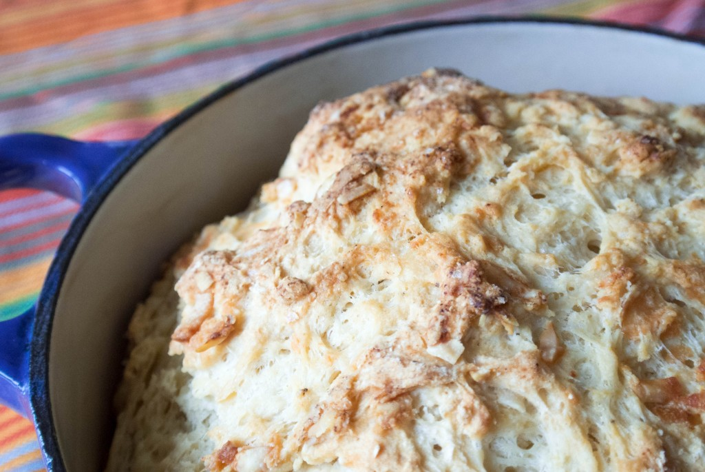 Cheesy Beer Bread-5