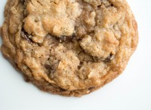 Chocolate Chip Oatmeal Coconut Oil Cookies-8