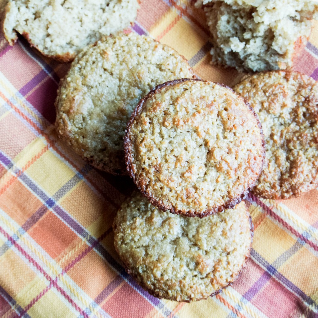 Ginger Oat Muffins