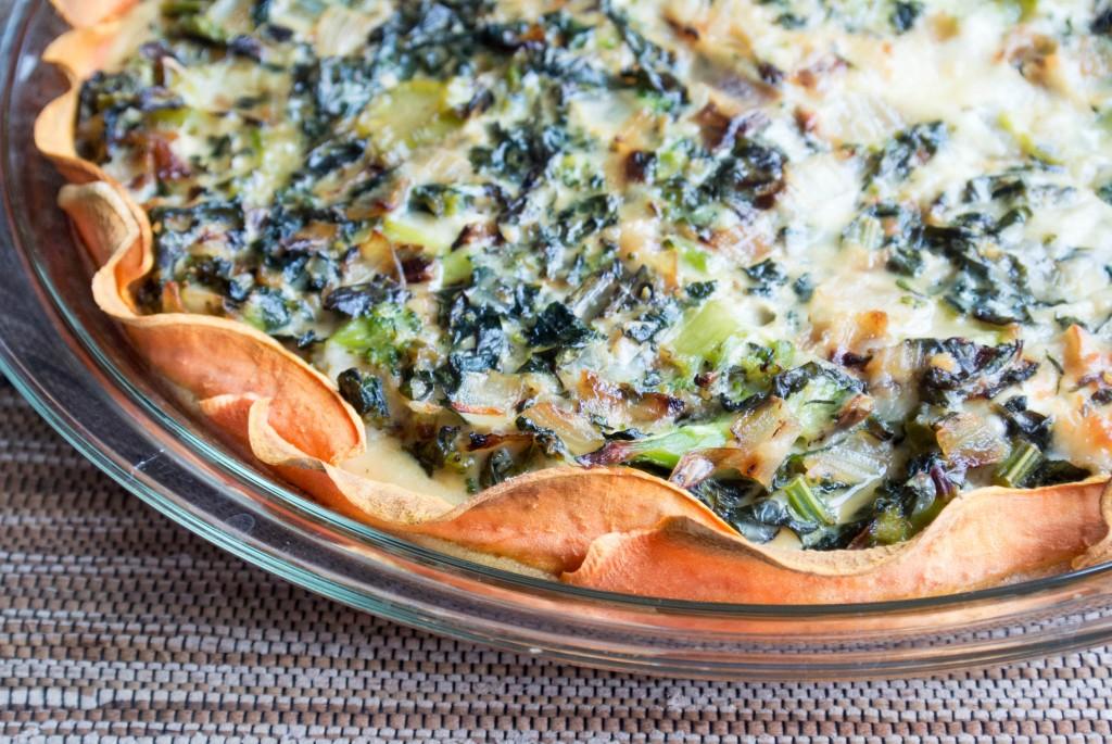 Kale and Sweet Potato Quiche-3