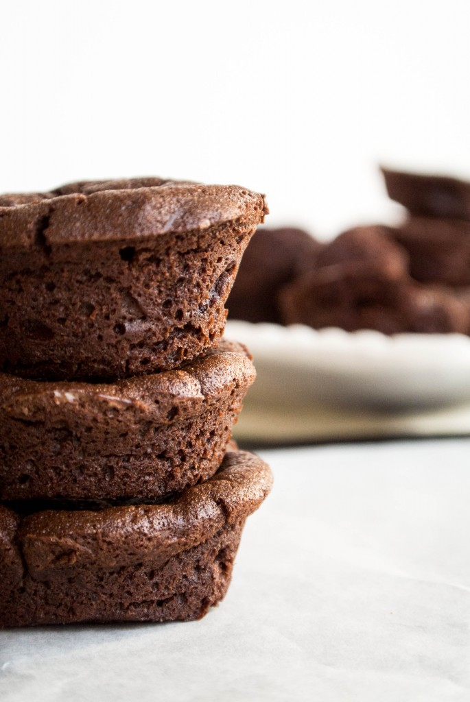 Mini Flourless Chocolate Cake-3