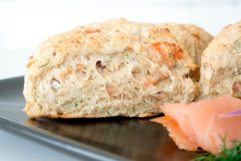 Savory Salmon Scones-2