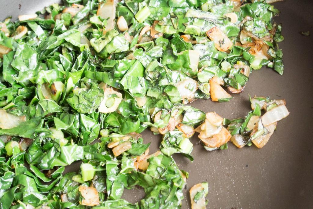 Kale and Cheddar Meatloaf
