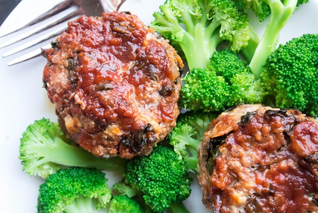 Kale and Cheddar Meatloaf-6