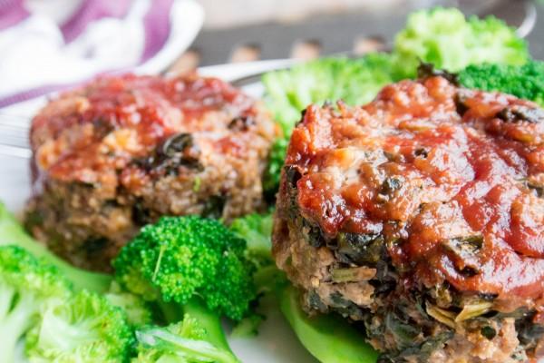 Kale and Cheddar Meatloaf-7