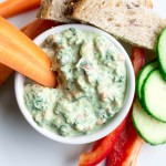 Kale and Spinach Greek Yogurt Dip