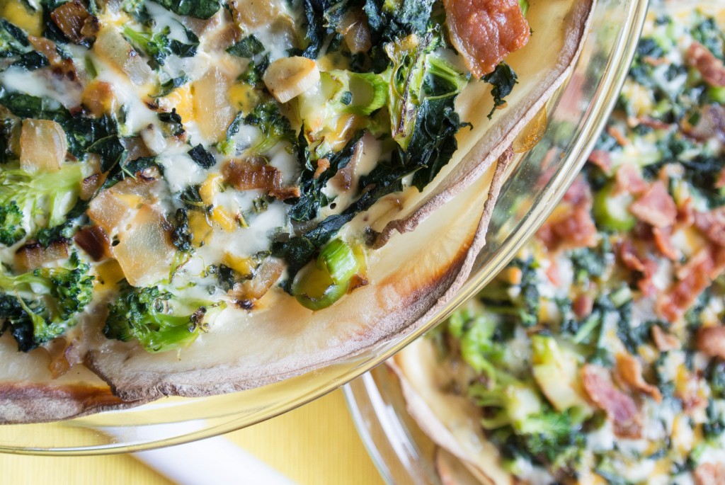 Loaded Baked Potato Quiche-7