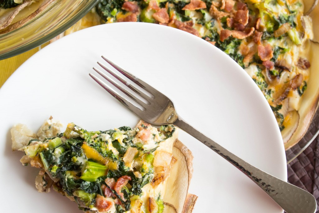 Loaded Baked Potato Quiche-9