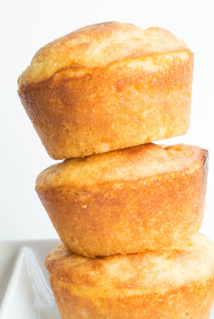 Cornbread Greek Yogurt Muffins-4