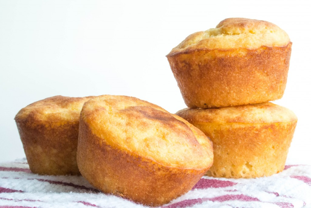 Cornbread Greek Yogurt Muffins-5