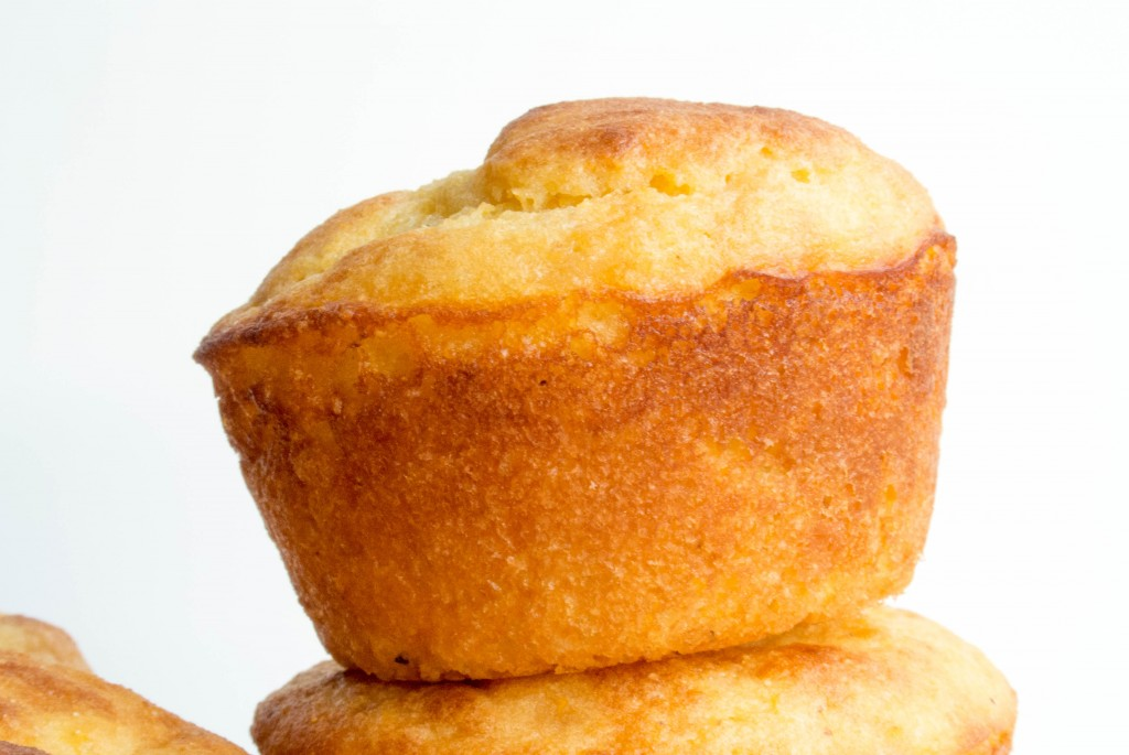 Cornbread Greek Yogurt Muffins-6