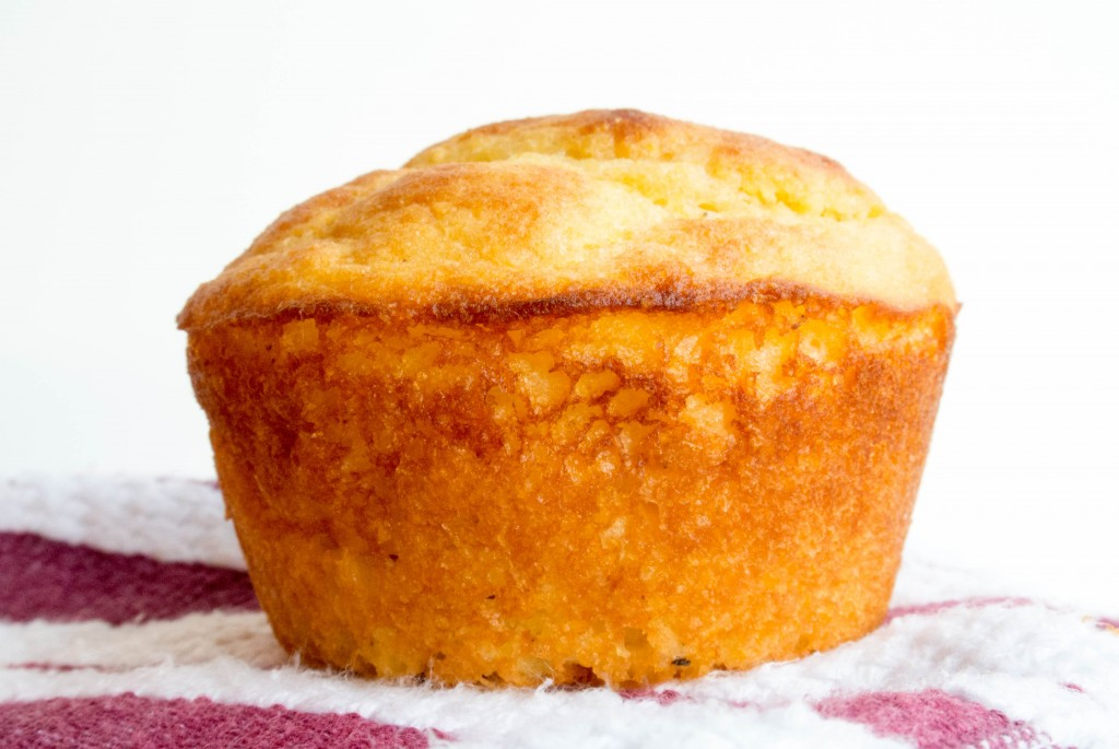 Cornbread Greek Yogurt Muffins-7