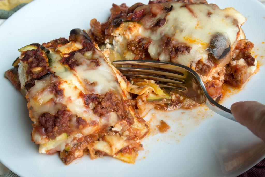 Ratatouille Lasagna-9