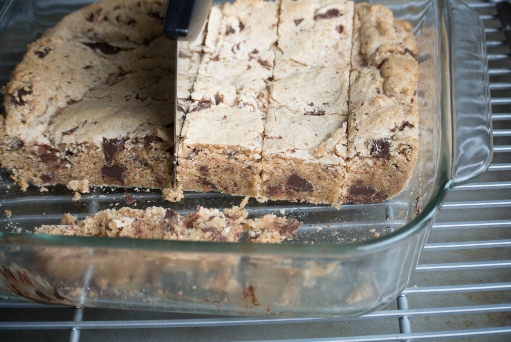 Browned Butter Chocolate Chip Bars-5