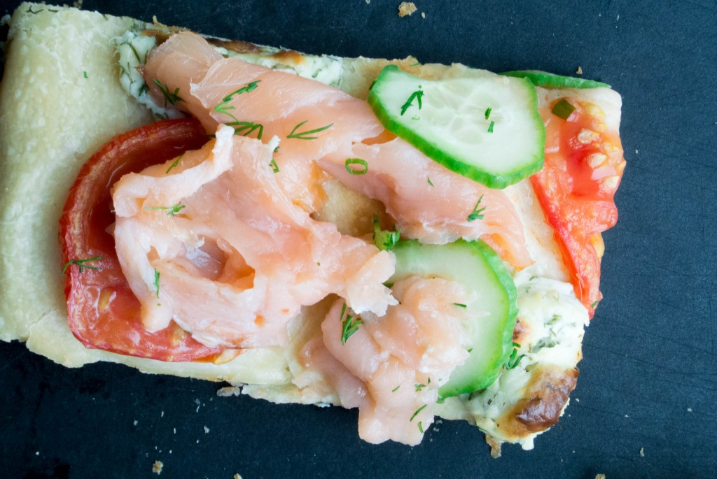 Salmon and Herbed Cream Cheese Focaccia_-19