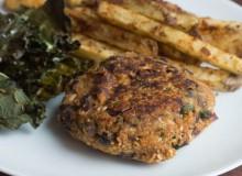 Sweet Potato Veggie Burger_-3