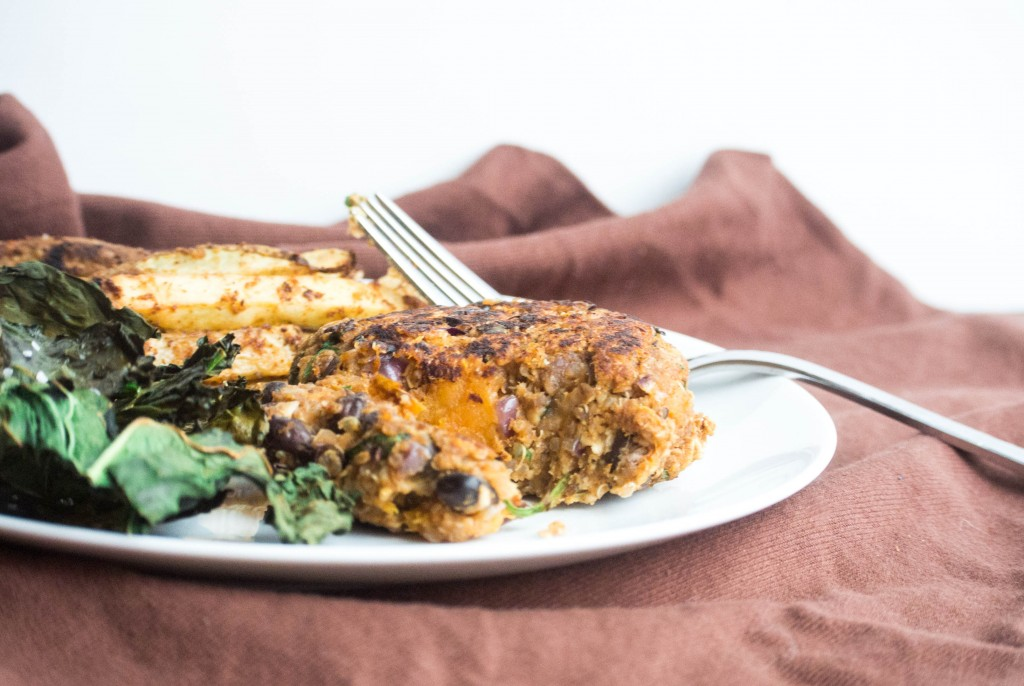 Sweet Potato Veggie Burger_-4