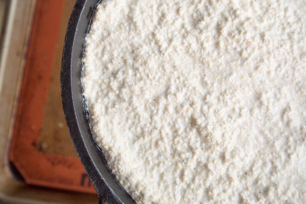 "Quinoa Crust Hummus + Veggie ""Pizza"" - A fun gluten free flatbread"
