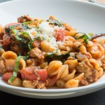 One-Pot Stovetop Lasagna Ragu with Sweet Italian Chicken Sausage