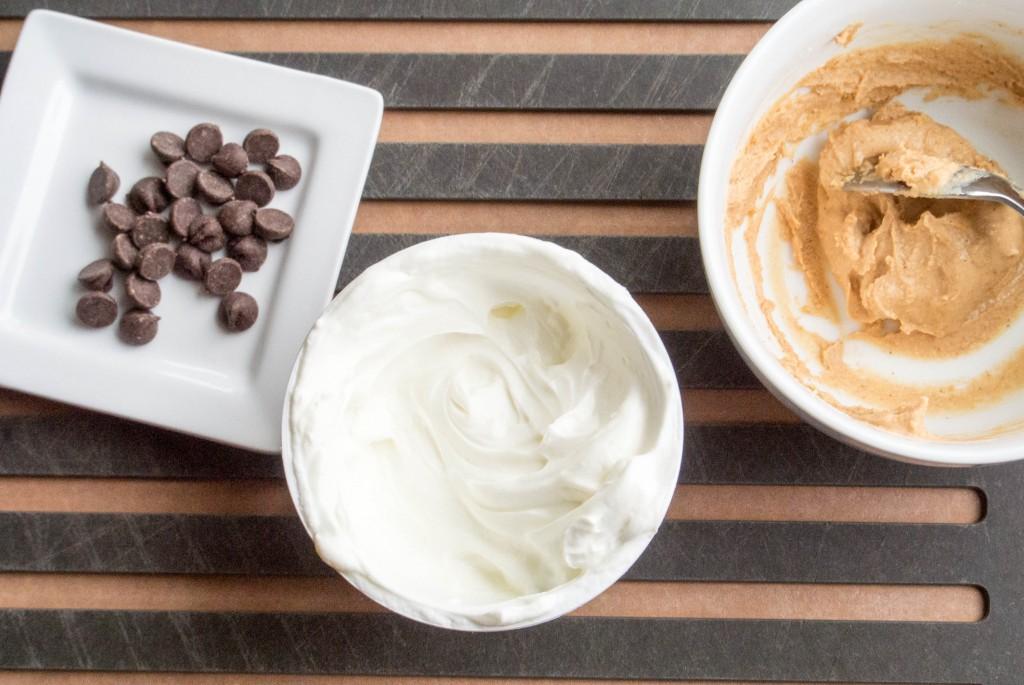 Chocolate Chip Peanut Butter Greek Yogurt